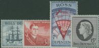 ROSS SG5-8 1967 Decimal definitive set of 4